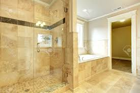 shower curtain for beige bathroom white wainscoting ideas behind