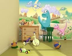 Photo Wallpaper DINOSAURS LAND Kids Room Wall Mural Xcm DINOSAUR - Dinosaur kids room