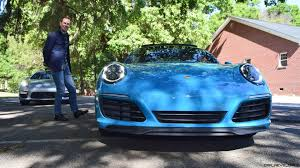 miami blue porsche wallpaper 2017 porsche 911 carrera s first drive in miami blue videos