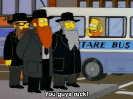 Hasidic Jew Meme - 8 weirdly out of character classic simpsons jokes collegehumor post