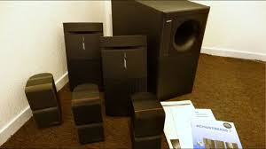 bose subwoofer for home theater free score bose acoustimass 7 u0026 sony stereo setup gratis for