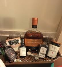 bourbon gift basket a bourbon gift basket for any bourbon lover
