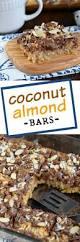 Almond U0026 Coconut Bars Coconut Snack Bars Kind Snacks by Coconut Almond Bars Shugary Sweets