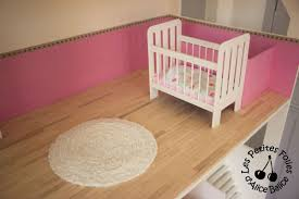 tapis boule feutre maison de barbie 6 les meubles chambres et salle de bain