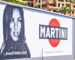 martini and rossi poster even f1 drivers have to deal with distractions at monaco ord