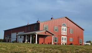 galvanized gooseneck light adds fun element to new barn home