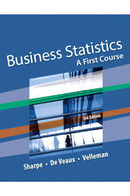 manual for business statistics a first course 3rd edition by sharpe