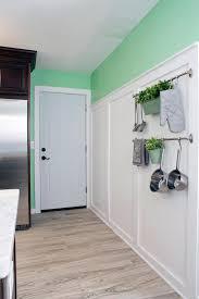 kitchen green paneled fridge airmaxtn