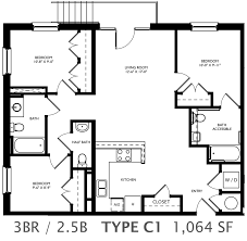 floor plans 3 bedroom 2 bath stunning 3 bedroom 2 5 bath house plans contemporary best