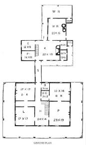 southern plantation house plans southern plantation 1852 historic plantatio house plan