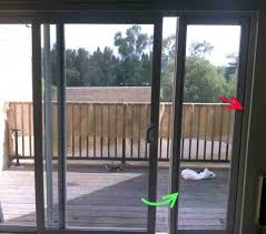 sliding glass door installation windows how can i remove the side glass pane from a patio