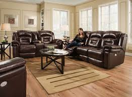 power leather recliner sofa southern motion leather power head rest recliner sofa model