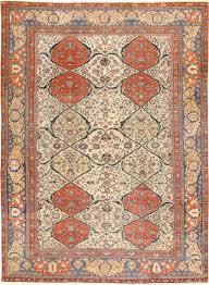 antique persian ivory sarouk farahan oriental rug 40530 nazmiyal rugs