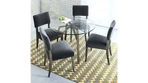 crate and barrel parsons dining table crate and barrel round dining table zaxis info