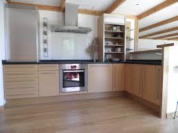 cuisine facade bois stunning cuisine bois noir inox ideas design trends 2017