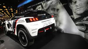 peugeot dakar peugeot 3008 dkr dispenses with the pleasantries in paris