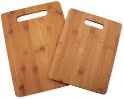 planche de cuisine set 2 planches à découper totaly bamboo planche de cuisine