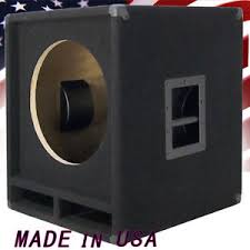 empty plastic speaker cabinets 1x15 empty low frequency sub bass speaker cabinet us made b115