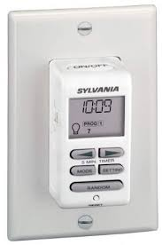 sylvania zip set light switch with digital timer