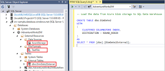 Sql Server Create Table Example Polybase In Sql Data Warehouse Tutorial Microsoft Docs