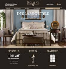 Bombay Home Decor The Bombay Company Unveils New Site For Shopping
