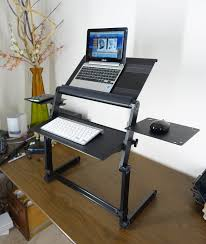 Standing Desk For Desktop Lapworks Wizard Standing Desk For Your Desktop Or Table
