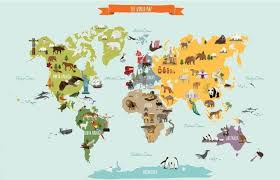 map of th world 37 eye catching world map posters you should hang on your walls