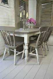 white dining room table and 6 chairs coloured black set wash round white dining room table chairs set black and