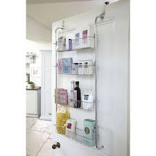 Back Of Door Storage Kitchen Over The Door Over The Door Dvd Rack Mdesign Overthedoor Shower