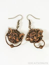 cool door knockers knocker earrings