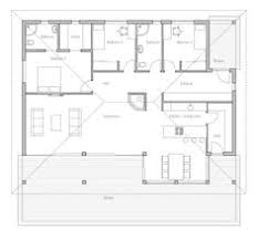 two bedroom small house plan with open planning covered terrace