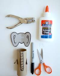 Paper Roll Crafts For Kids - elephant toilet paper roll crafts c r a f t