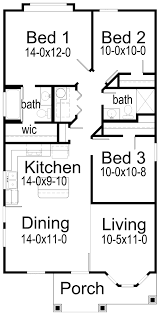 3 bedroom home floor plans house plans by korel home designs small house plan maybe no bedroom