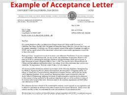 Awesome College Acceptance Letter Awesome Collection Of Sle Acceptance Letter To High School For