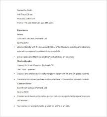 Nursing Tutor Resume Personal Trainer Resume Sample Barry Whitney Resume Apa