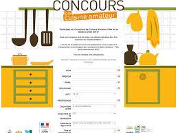 concours de cuisine lancement du premier concours de cuisine