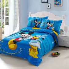 Mickey Mouse King Size Duvet Cover Compare Prices On Mickey Mouse Bedding Set Single Online Shopping