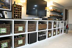 thrifty home decorating blogs our hardest working storage that looks good too from thrifty