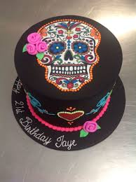 top 10 day of the dead halloween cakes food heaven food heaven