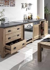 cocktail scandinave cuisine cuisine où trouver des meubles indépendants en bois brut
