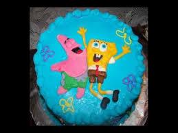 spongebob birthday cakes spongebob birthday cake