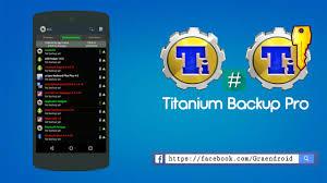 titanium backup pro apk no root สำรองข อม ลเกมส ด วย titanium backup root