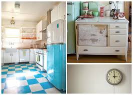 retro kitchen flooring best kitchen designs