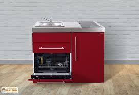 cuisiner avec l induction mini cuisine avec frigo l v et induction mpgs110 6 coloris