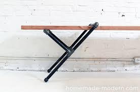 Pvc Bench Seat Homemade Modern Ep23 Pipe Bench