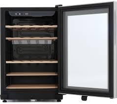 black friday wine fridge buy haier ws25ga wine cooler black free delivery currys