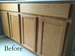 Paint Bathroom Cabinets by Painting Bathroom Vanity Before And After