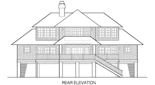 beachfront house plans shelter cottage piling foundation 2117 sf southern cottages