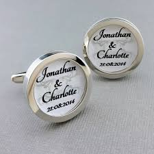personalized wedding cufflinks and groom personalised gifts