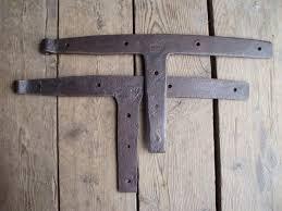 Antique Door Hardware Antique Iron Barn Door Hinges Hand Forged Hardware